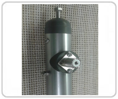 Hexbeam 50 Ohm Air coaxial center-post